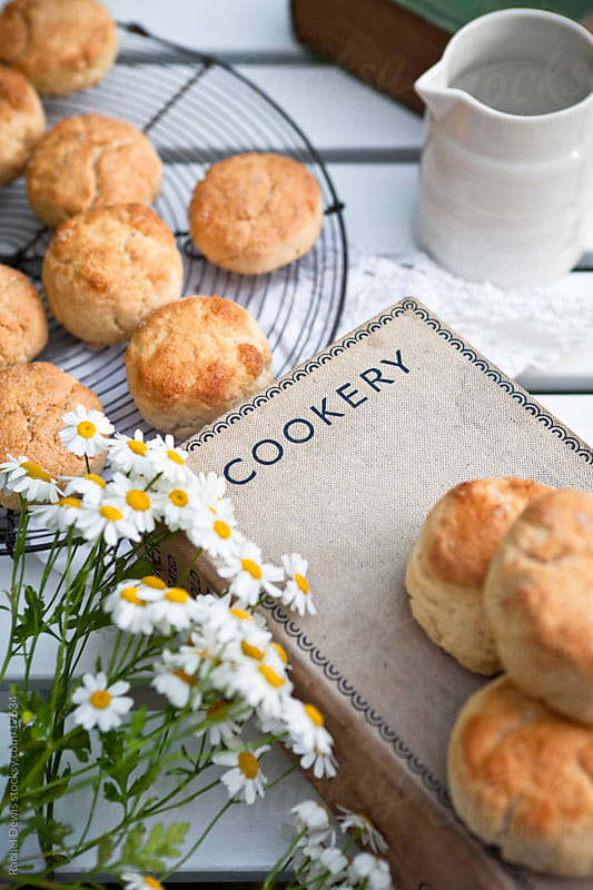 Homemade scones. by Rachel Dewis for Stocksy United