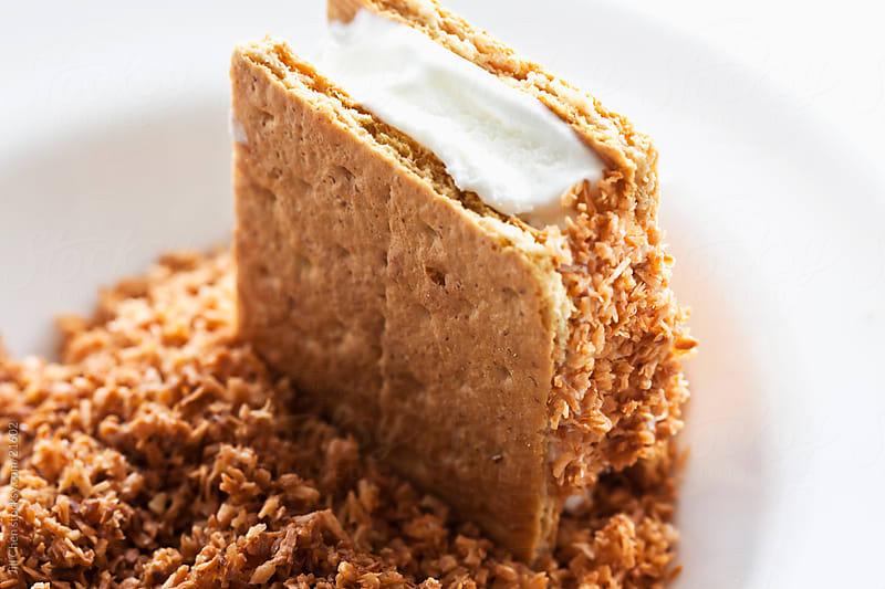 Making Ice Cream Sandwich by Jill Chen for Stocksy United