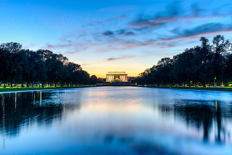 Lincoln Memorial  by Cameron Whitman for Stocksy United