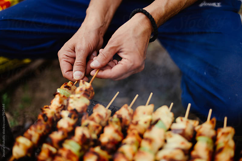 Barbecue by Jovana Vukotic for Stocksy United