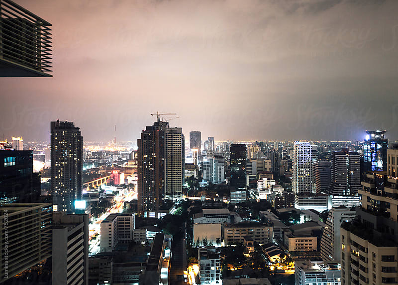 Bangkok at Night by Lumina for Stocksy United