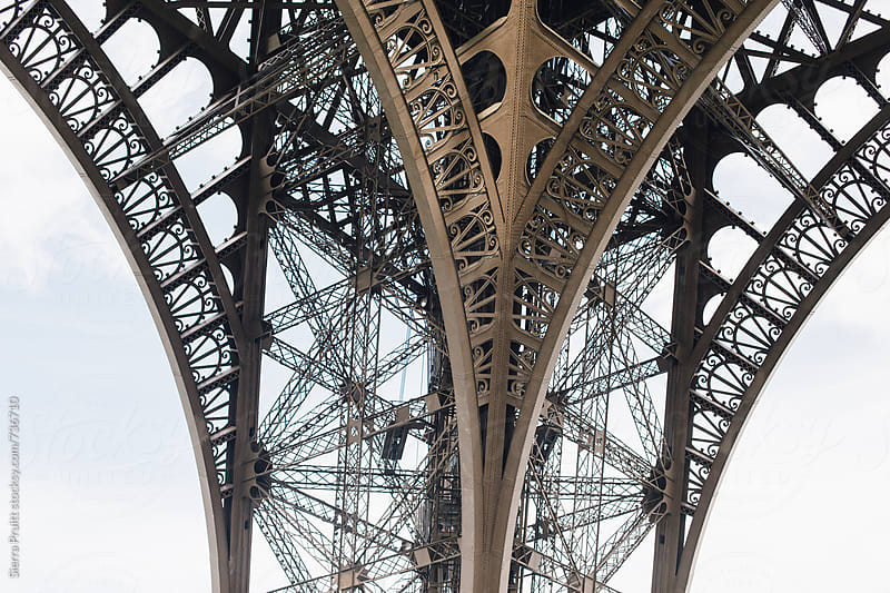Eiffel Tower by Sierra Pruitt for Stocksy United