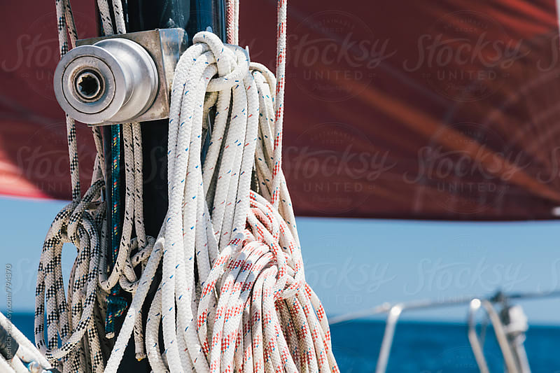 Boat Ropes by Agencia for Stocksy United
