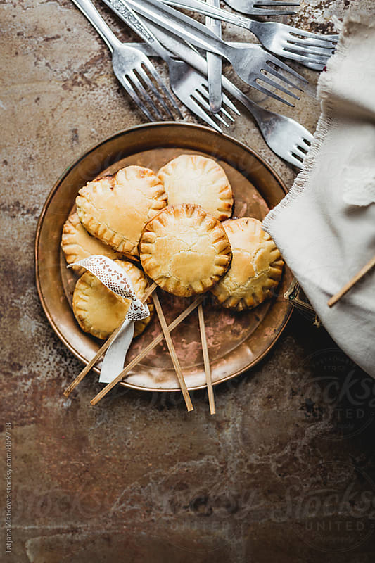 Homemade pie pops by Tatjana Ristanic for Stocksy United
