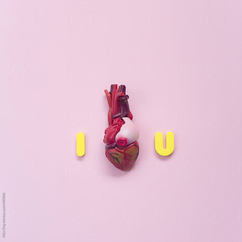 I heart you by Alita Ong for Stocksy United