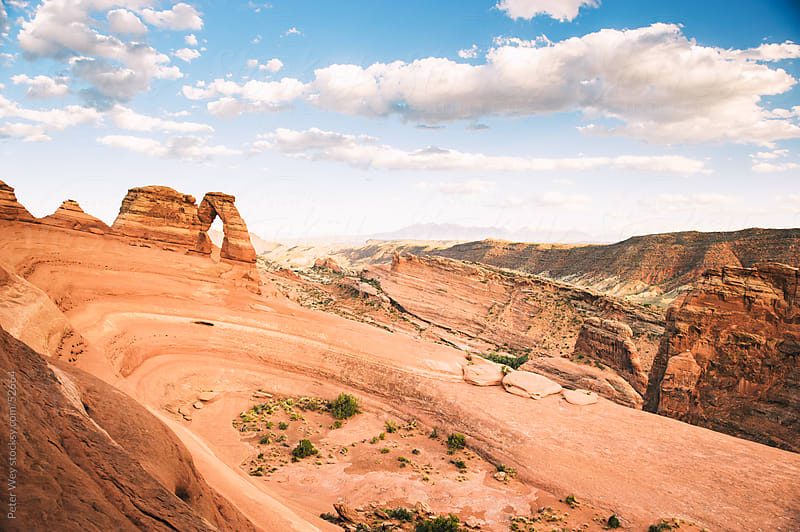 Delicate Arch, Arches National Park, Utah, USA by Peter Wey for Stocksy United