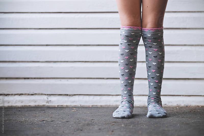 grey socks by Gillian Vann for Stocksy United