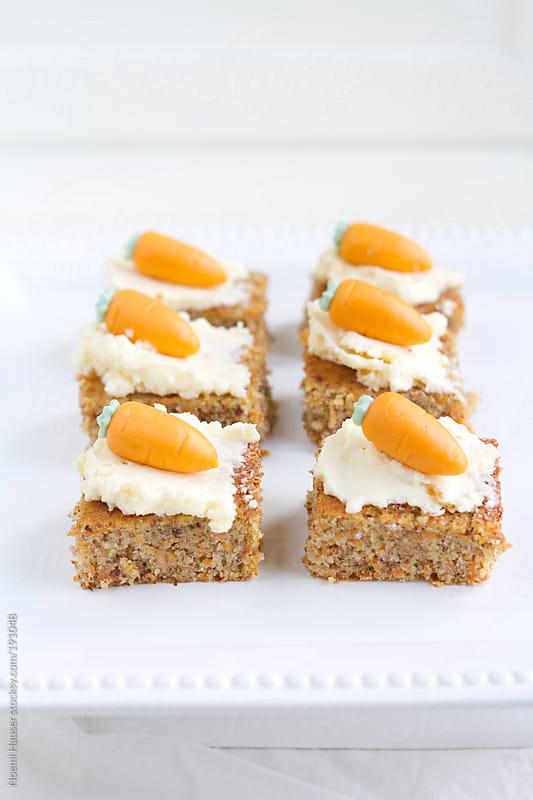 Carrot cake  by Noemi Hauser for Stocksy United