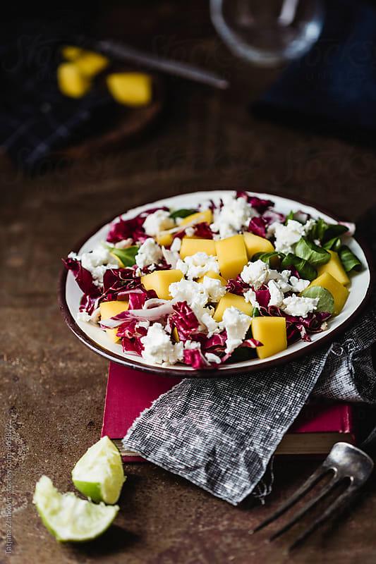 Mango salad by Tatjana Zlatkovic for Stocksy United