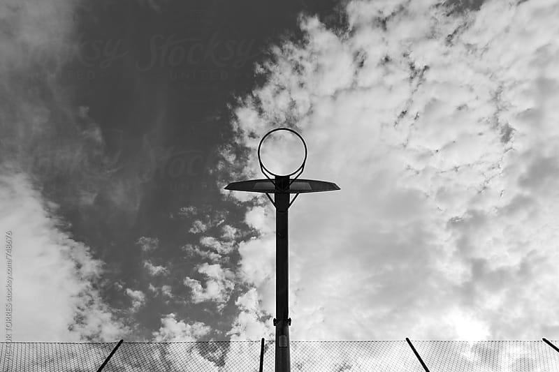 Street Basketball Hoop by VICTOR TORRES for Stocksy United