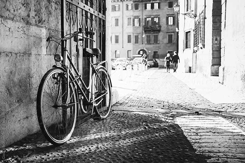 Bicycle in Italy by Good Vibrations Images for Stocksy United