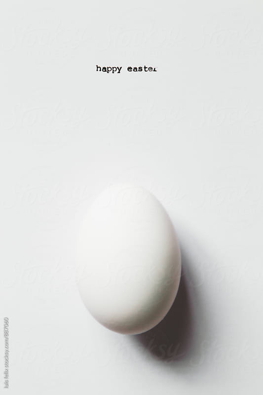 Happy easter by luis felix for Stocksy United