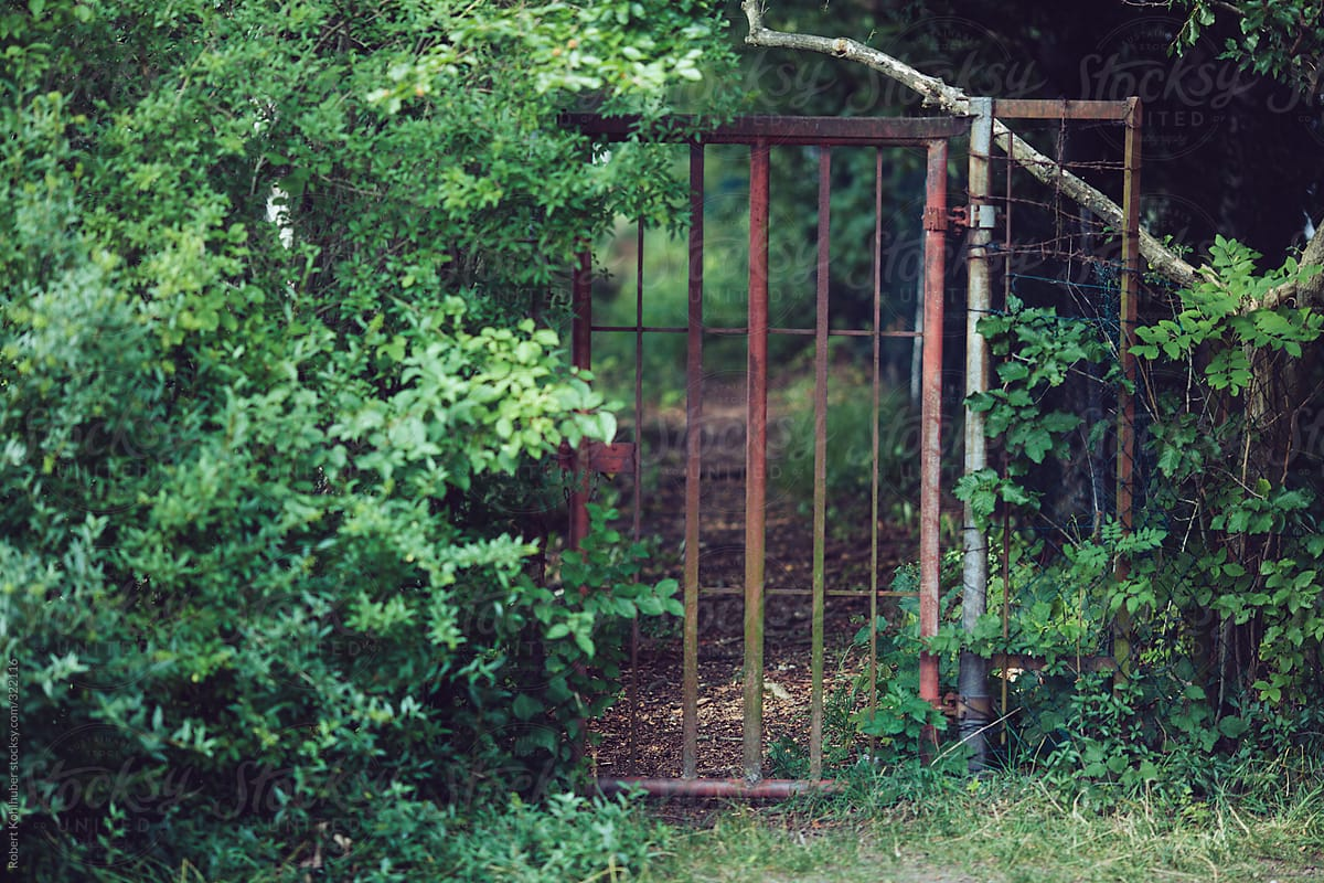 Old Garden Gate By Robert Kohlhuber For Stocksy United
