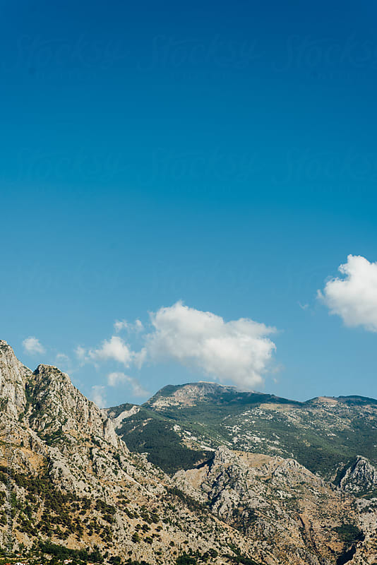 Landscape of amazing nature and mountains by Boris Jovanovic for Stocksy United
