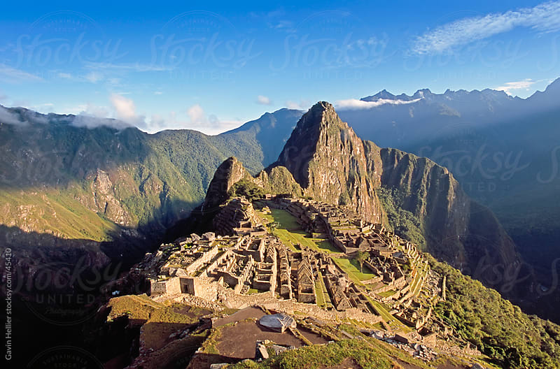 Inca ruins, Machu Picchu, UNESCO World Heritage Site, Peru, South America by Gavin Hellier for Stocksy United