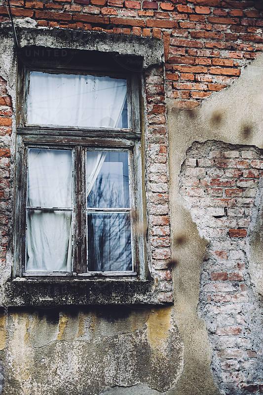 Old house window by Natasa Kukic for Stocksy United