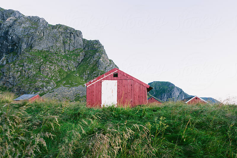 Lofoten Huts by Agencia for Stocksy United