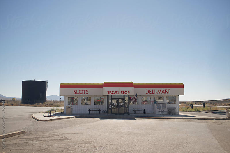 Travel Stop by Lucas Saugen for Stocksy United