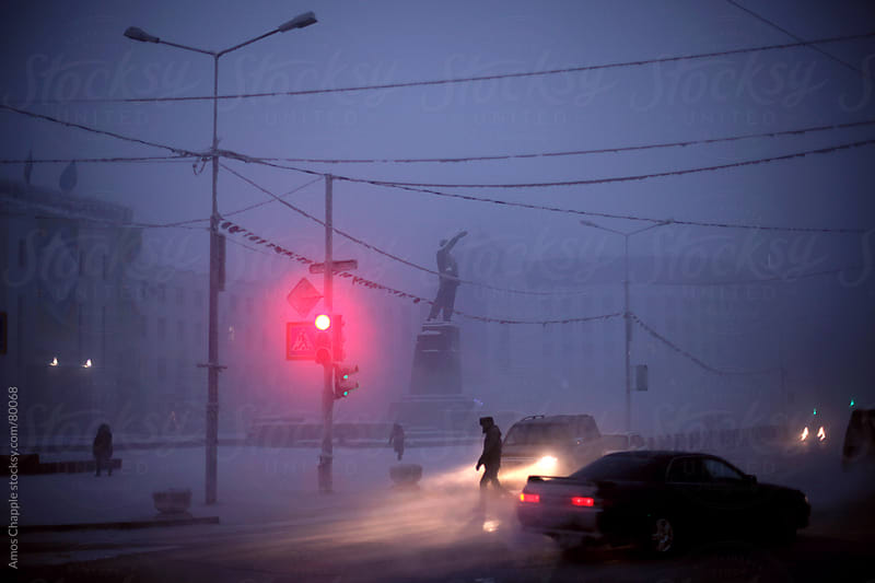 Centre of Yakutia in winter. by Amos Chapple for Stocksy United