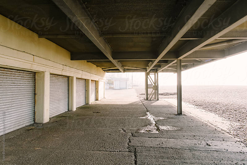 Under the Pier by Sam Burton for Stocksy United