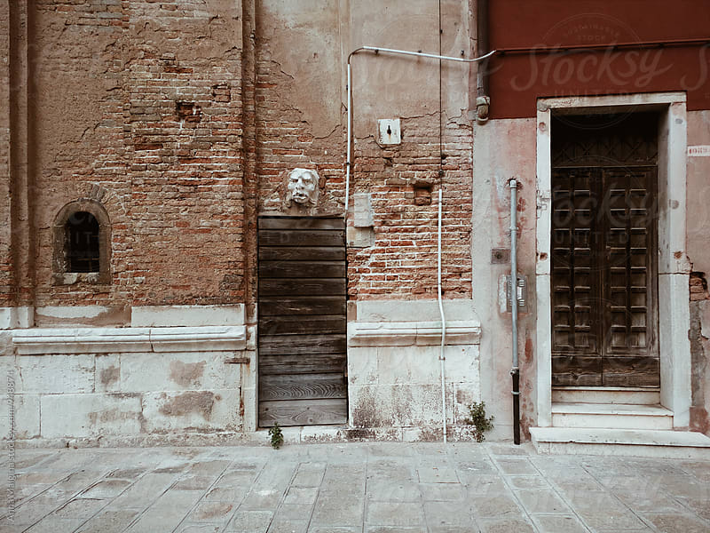 A Venetian street by Anna Malgina for Stocksy United