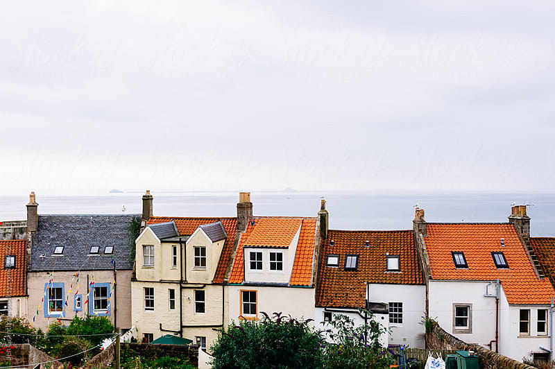 Homes in Pittenweem, Fife, Scotland. by Jen Grantham for Stocksy United