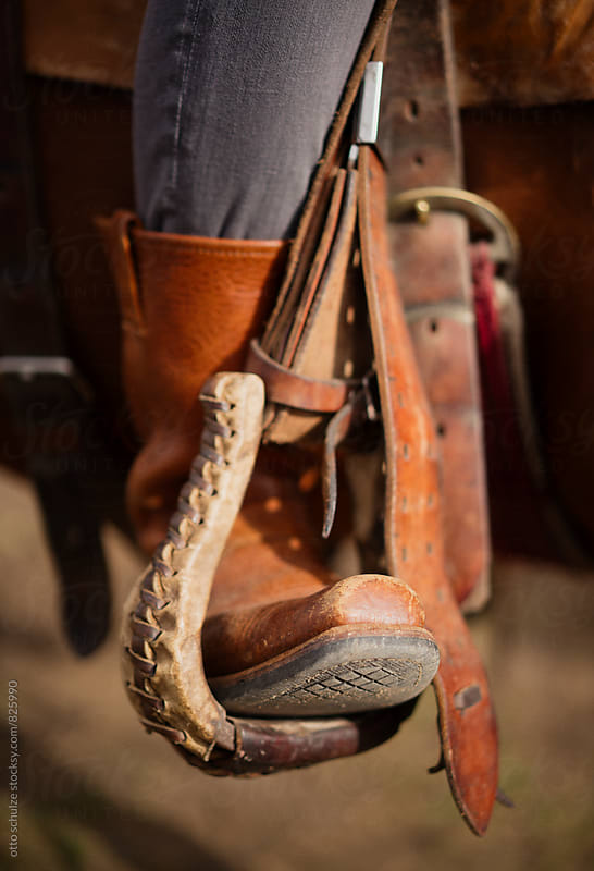 cowboy boots by otto schulze for Stocksy United