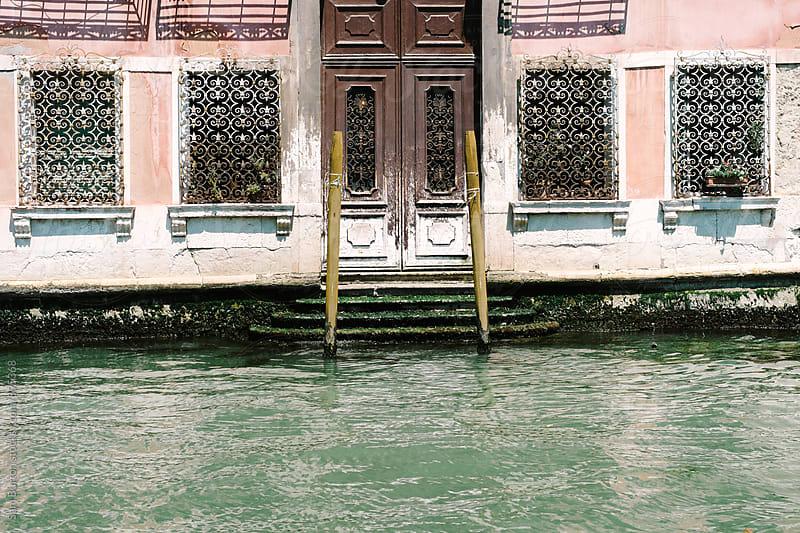 Building front in Venice by Sam Burton for Stocksy United