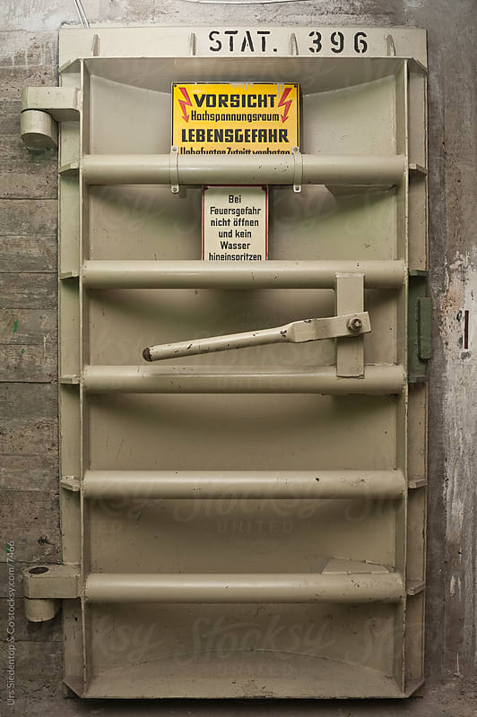 Bunker Door by Urs Siedentop & Co for Stocksy United