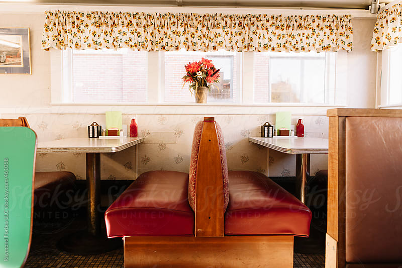 Diner Booth by Raymond Forbes LLC for Stocksy United