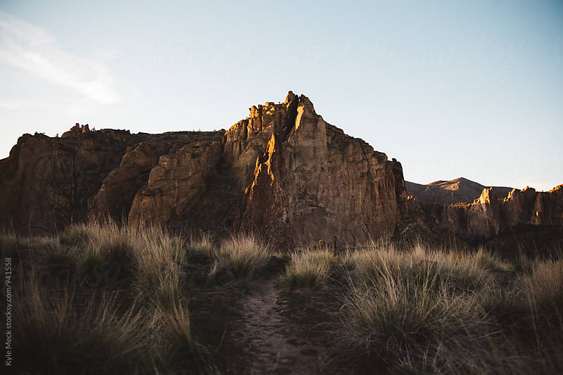 Smith Rock State Park by Kyle Meck for Stocksy United
