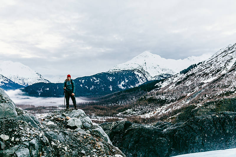 Exit Glacier Adventures by Jovell Rennie for Stocksy United