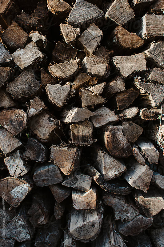 Wood Stack by Jack Sorokin for Stocksy United