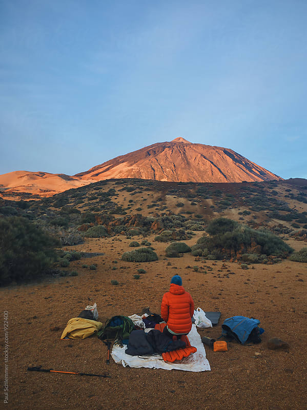 sunrise and teide by Paul Schlemmer for Stocksy United