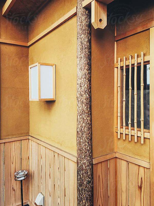 Japanese Architecture - Earthen House Wall Detail by Julien L. Balmer for Stocksy United