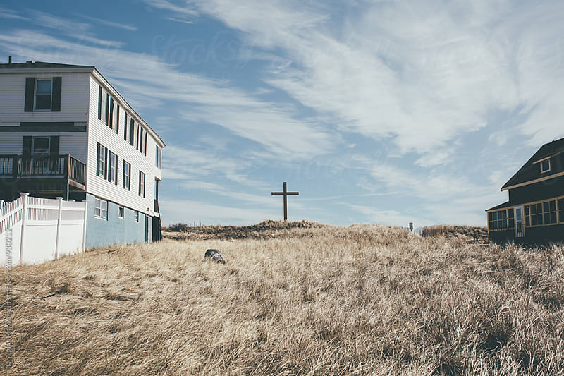 Cross at the beach by Douglas Robichaud for Stocksy United