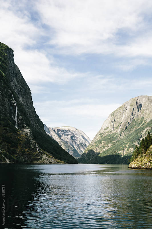 Fjord Landscape by Agencia for Stocksy United
