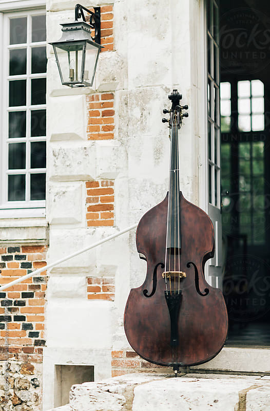 Cello at 17th Century French Chateau by Raymond Forbes LLC for Stocksy United