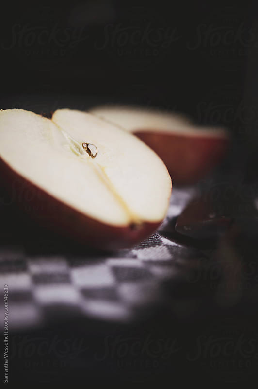 sliced pear by Samantha Wesselhoft for Stocksy United
