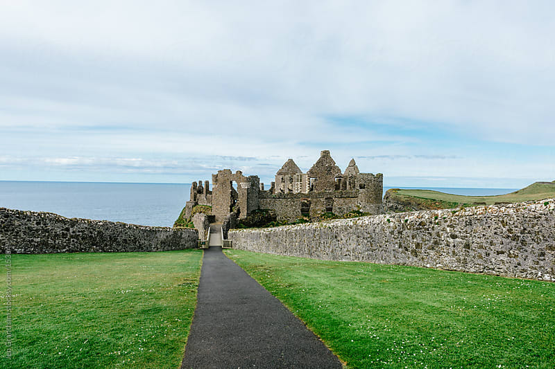 Dunluce Castle, Northern Ireland by Jen Grantham for Stocksy United