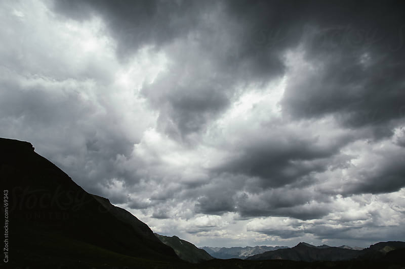 Big clouds by Carl Zoch for Stocksy United