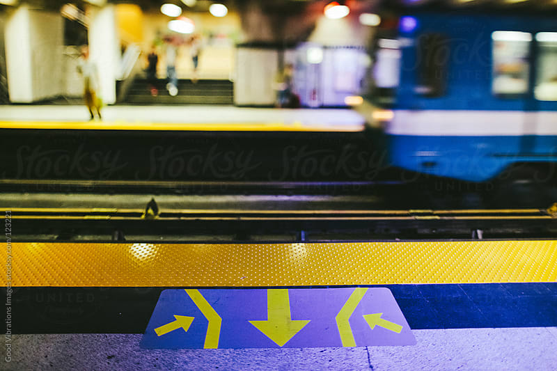 Underground Train Station by Good Vibrations Images for Stocksy United