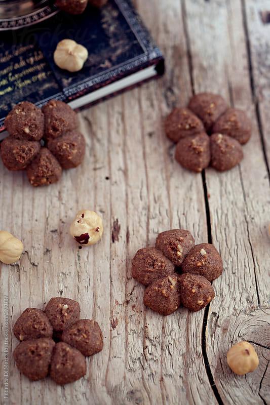 Hazelnut shortbread by Federica Di Marcello for Stocksy United