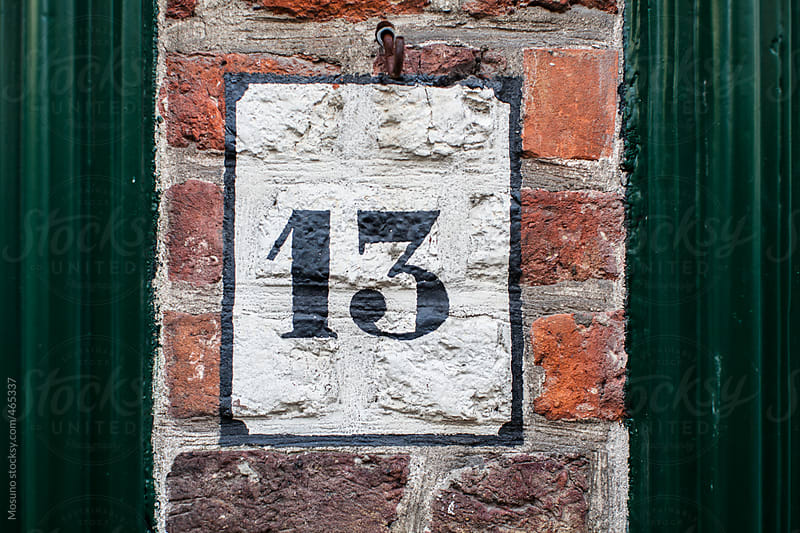 House Number Thirteen  by Mosuno for Stocksy United
