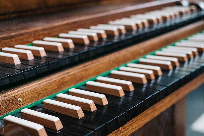 Organ keys by Sam Burton for Stocksy United