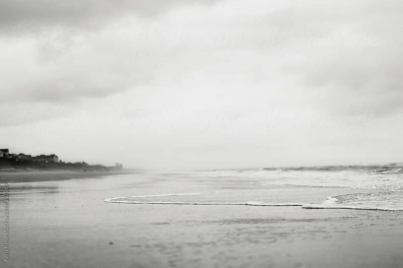 cloudy day at the beach by Kelly Knox for Stocksy United