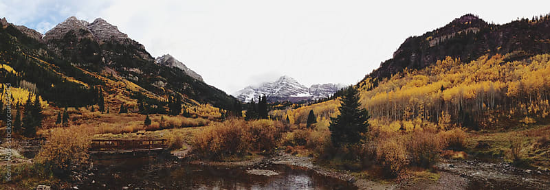 Maroon Bells by Kevin Russ for Stocksy United
