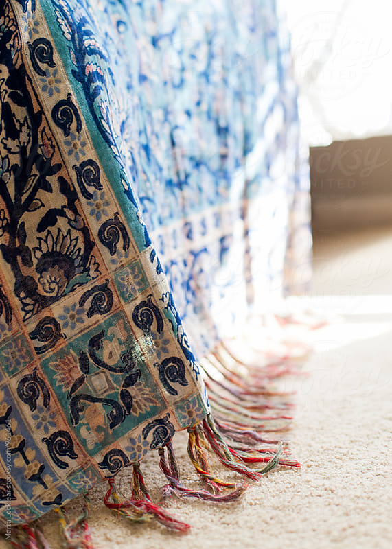 Bohemian Tapestry Detail by Marta Locklear for Stocksy United