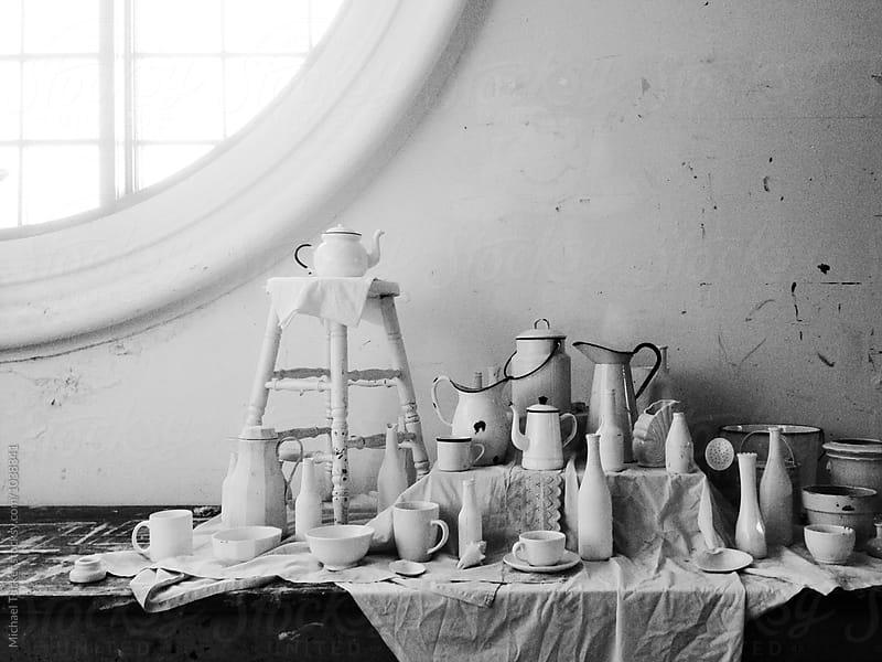 Pot + Vase Still Life by Michael Tucker for Stocksy United
