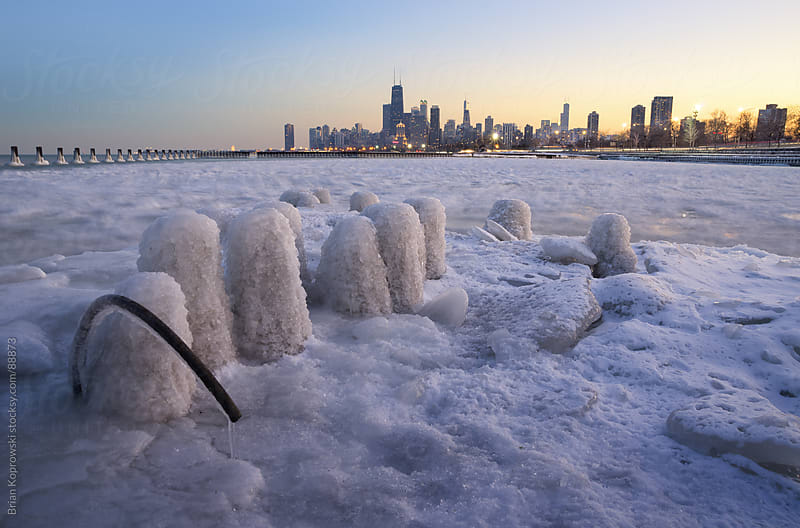 Chicago Cold by Brian Koprowski for Stocksy United